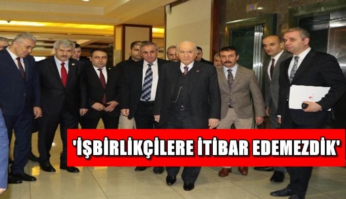 Bahçeli'den, Kılıçdaroğlu'a Afrin üzerinden sert eleştiri