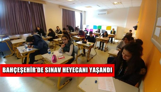 Bahçeşehir'de sınav heyecanı yaşandı