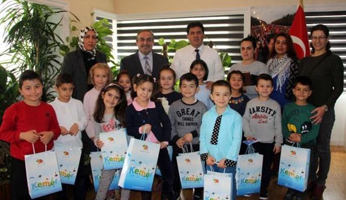 Başkan Gül'e sıra teşekkürü