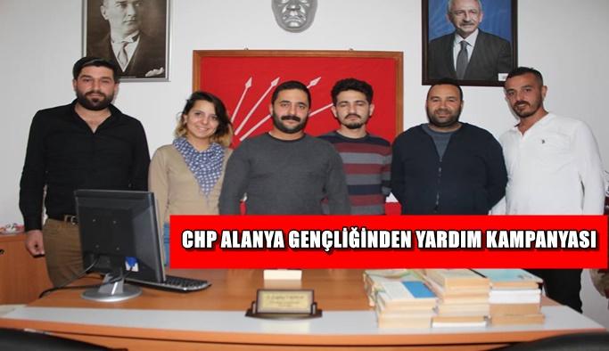 CHP'li Gençlik'ten yardım kampanyası