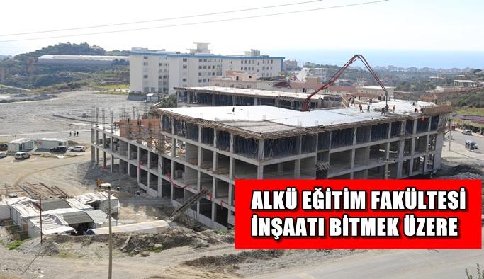 Eğitim Fakültesi inşaatı bitmek üzere