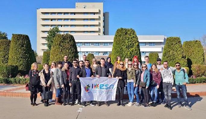 Erasmus öğrencilerine oryantasyon eğitimi