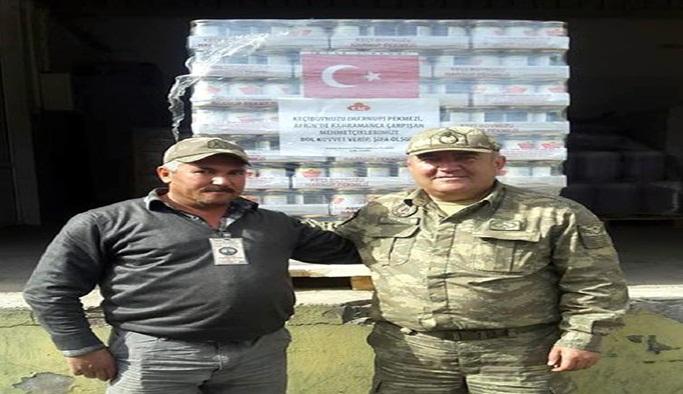 Esnaftan, Afrin'e keçi boynuzu pekmezi