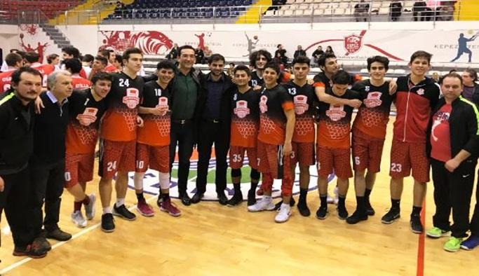 Muratpaşa Belediyespor Antalya şampiyonu