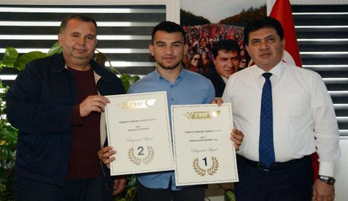 Şampiyondan Başkan Gül'e ziyaret