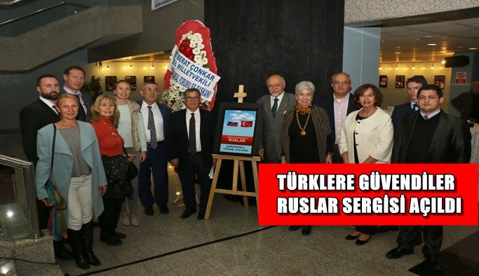 Türk-Rus dostluğu bu sergide