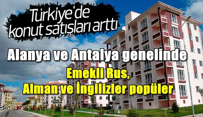 Türkiye'den konut alan yabancılar %22 arttı