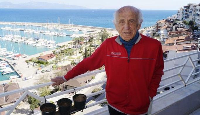 94 yaşında New York Maratonu'nda koşma hayaline 2 yıl kaldı