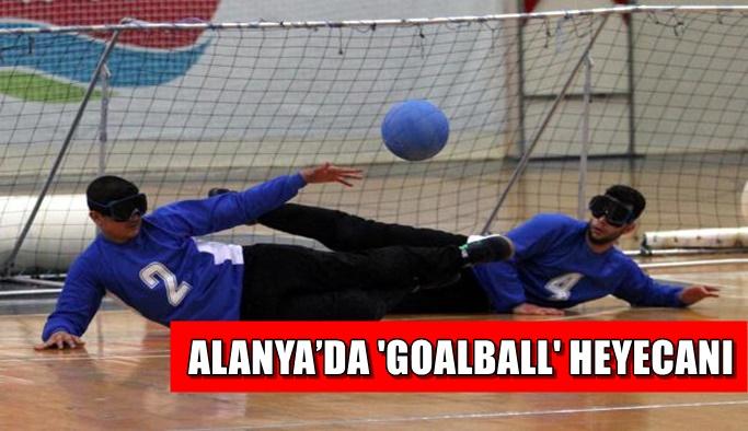 Alanya'da 'Goalball' heyecanı