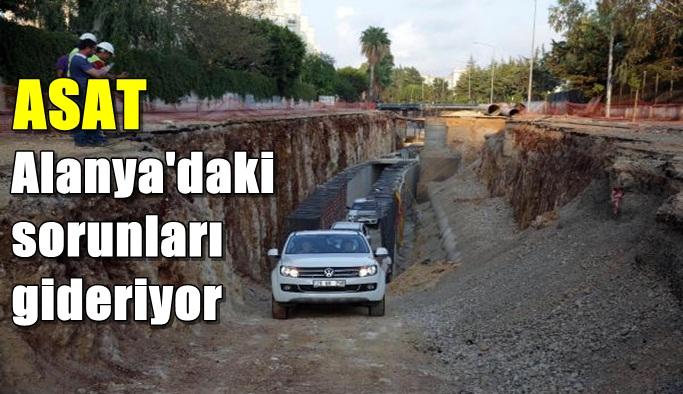 ASAT'ın altyapı hizmetleri