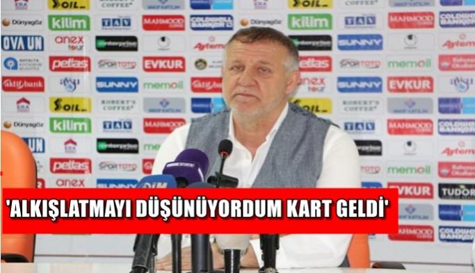 Aytemiz Alanyaspor – Medipol Başakşehir maçının ardından
