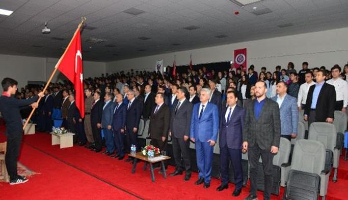 Kumluca'da İstiklal Marşı'nın kabulü töreni