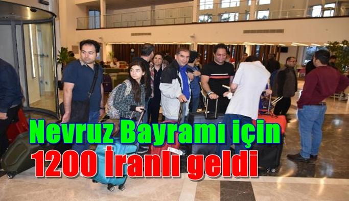 Nevruz Bayramı nedeniyle 1200 İranlı turist geldi