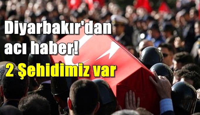 SON DAKİKA! Diyarbakır'dan acı haber!