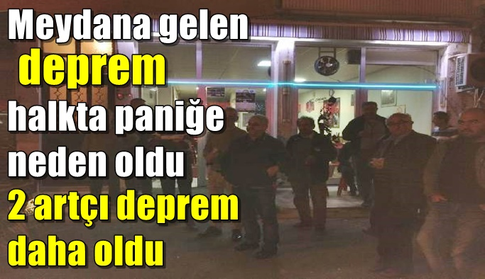 Alanya ve Antalyta'daki deprem halkı sokağa döktü!