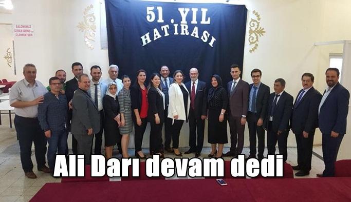 Ali Darı devam dedi