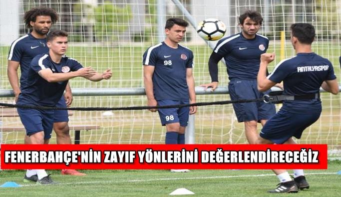 Antalyaspor, Fenerbahçe karşısında seri peşinde