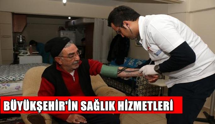 Büyükşehir'in sağlık hizmetleri
