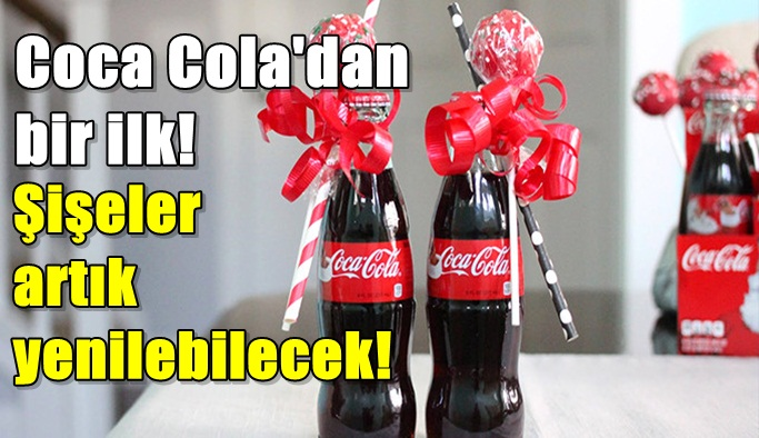 Coca Cola'dan devrim gibi buluş!
