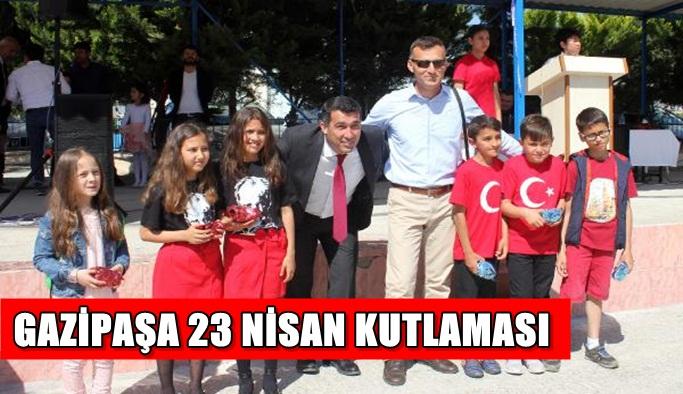 Gazipaşa 23 Nisan kutlaması