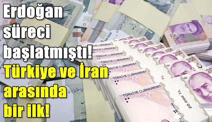 İran ile Türkiye arasında bir ilk