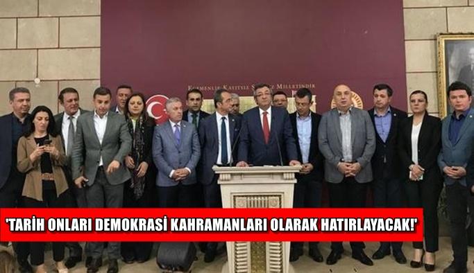 İşte CHP'den istifa edip İYİ Parti'ye geçen 15 milletvekili