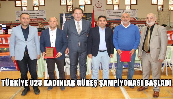 TÜRKİYE U23 KADINLAR GÜREŞ ŞAMPİYONASI BAŞLADI