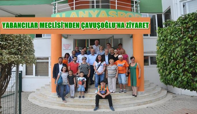 Yabancılar Meclisi'nden Çavuşoğlu'na ziyaret