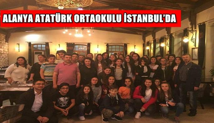 Alanya Atatürk Ortaokulu İstanbul'da