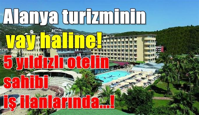 Alanya turizminin vay haline!