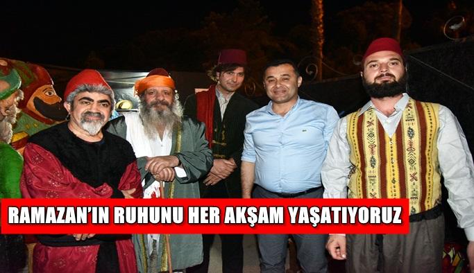 Alanya'da Ramazan Meydanı'na yoğun ilgi