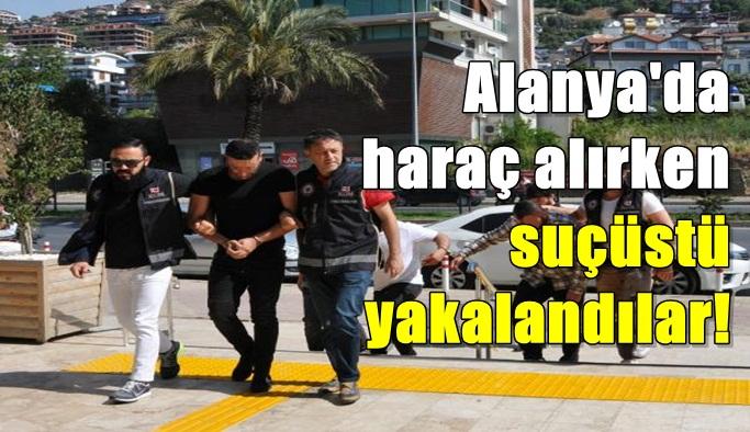Alanya'da tehditle para alan şüphelilerin kamera görüntüleri ortaya çıktı!