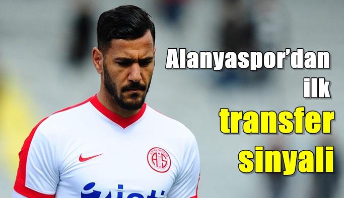 Alanyaspor'dan ilk transfer sinyali