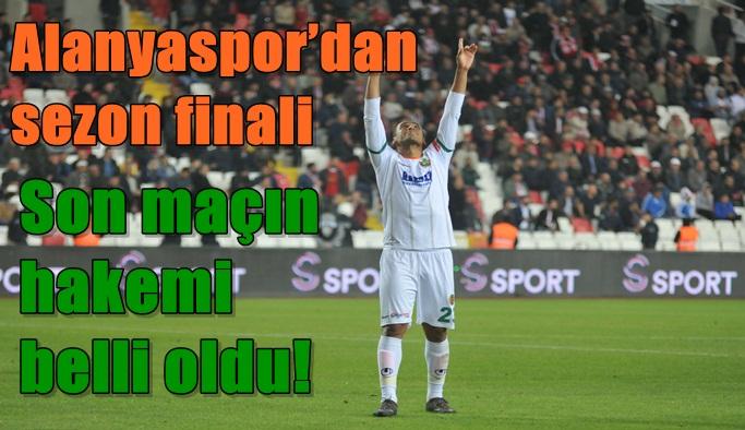 Alanyaspor'dan sezon finali