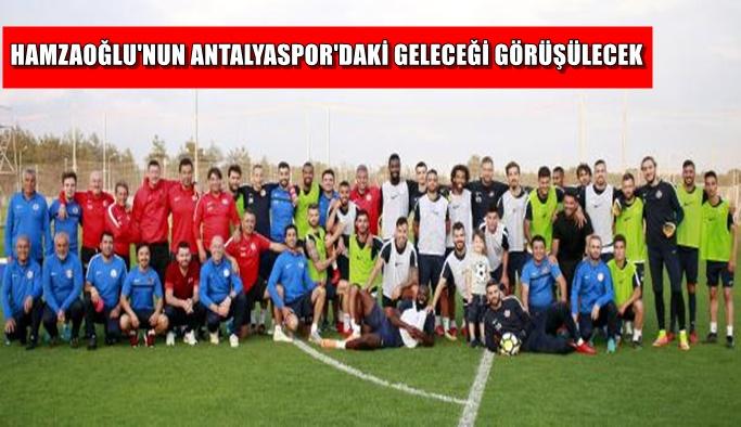 Hamzaoğlu'nun Antalyaspor'daki geleceği görüşülecek