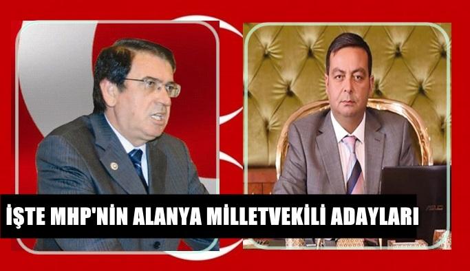 İşte MHP'nin Alanya Milletvekili adayları!