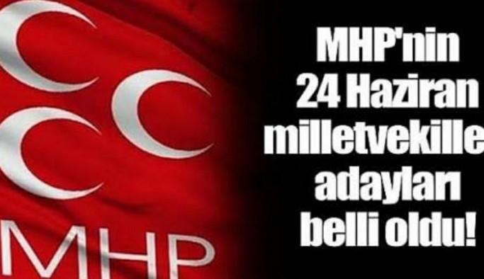 İşte MHP'nin Antalya'da adayları! Alanya'dan da isimler var