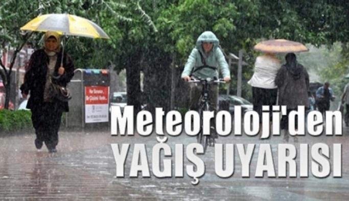 Meteoroloji'den bir hafta yağış uyarısı