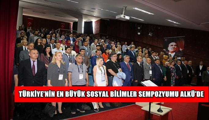 Türkiye'nin en büyük sosyal bilimler sempozyumu ALKÜ'de başladı