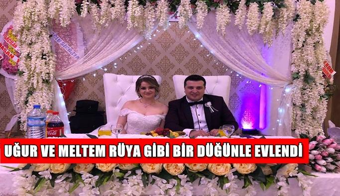 Uğur ve Meltem rüya gibi bir düğünle evlendi