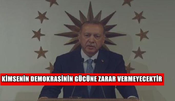 Cumhurbaşkanı Erdoğan'dan seçim sonuçları sonrası ilk açıklama