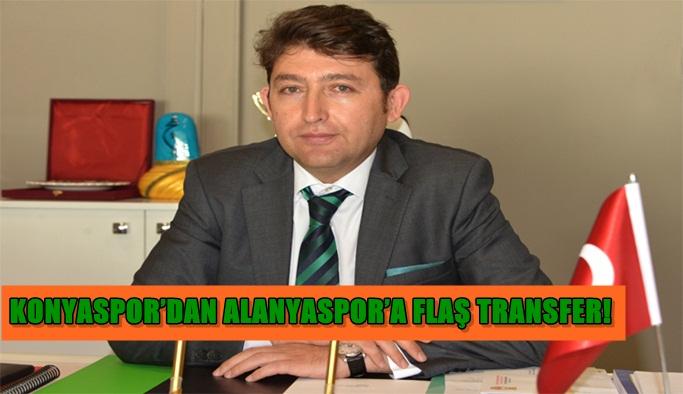 Konyaspor'dan Alanyaspor'a FLAŞ transfer!