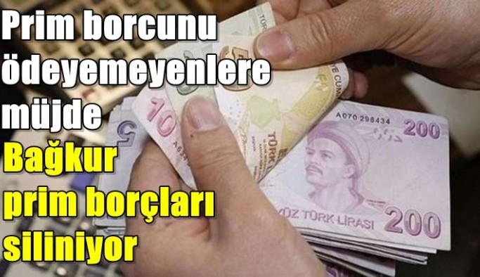Prim borcunu ödeyemeyen birçok kişiye müjde