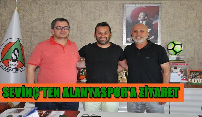 Sevinç'ten Alanyaspor'a ziyaret