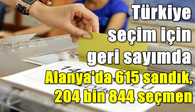 Türkiye seçim için geri sayımda