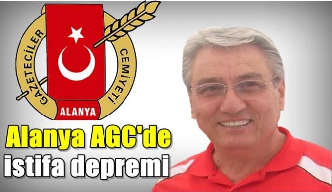 Alanya AGC'de istifa depremi
