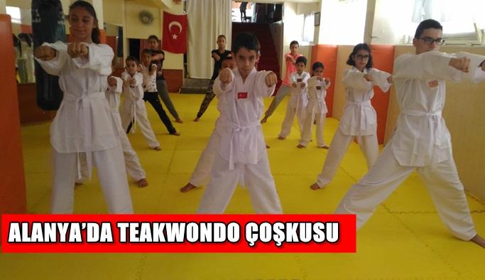 Alanya'da Teakwondo çoşkusu