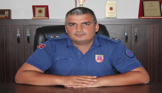Gazipaşa jandarma komutanı göreve başladı
