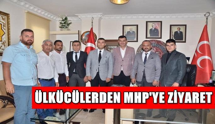 Ülkücülerden MHP'ye ziyaret