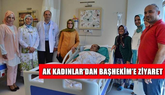 AK Kadınlar'dan Başhekim'e ziyaret